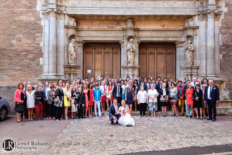 photographe mariage toulouse photo groupe